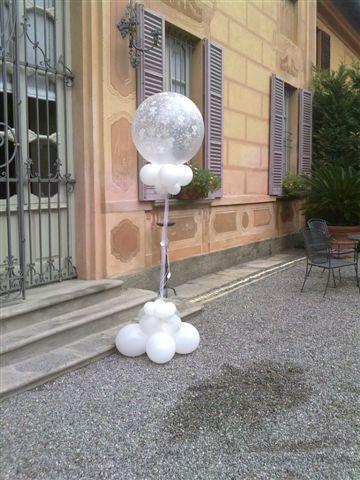 Addobbi per matrimoni con palloncini