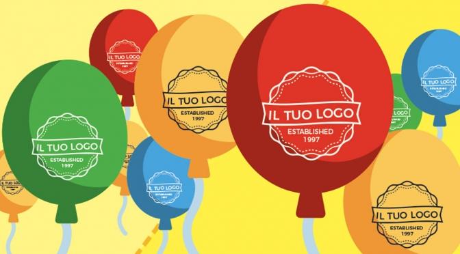 palloncini personalizzati con logo