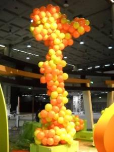 Albero di palloncini - palloncini per allestimenti