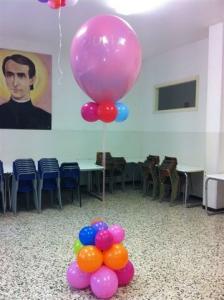allestimenti palloncini - forma particolare
