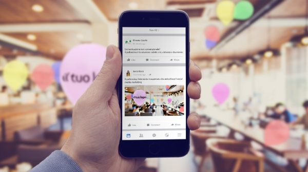 Social media marketing con palloncini